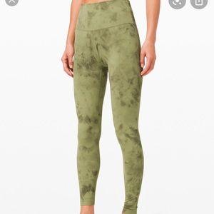 "lululemon Align Pant 25"" Vista Green Medium Olive"
